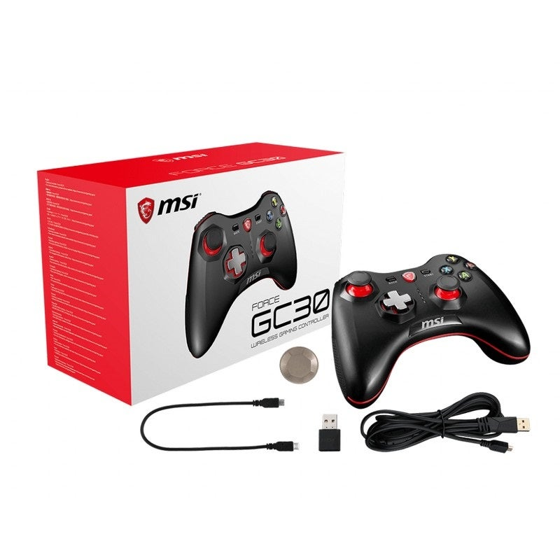 MSI GC30 Wireless Gaming Controller Support PC, Android