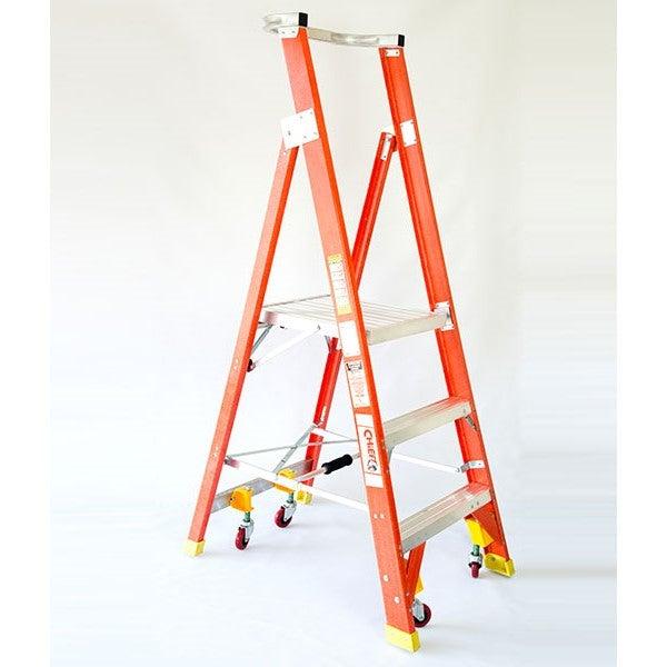 5 Step Fibreglass Platform Ladders Buy Platform Ladders