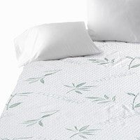 New Bamboo Fully Fitted Mattress Protector Fitted Sheet Waterproof Cover All Size