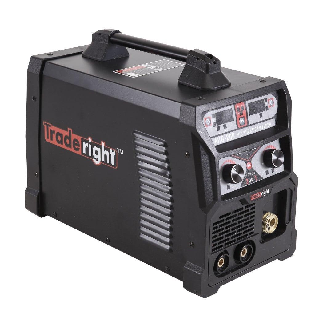 Traderight 200Amp Welder MIG ARC MAG Welding Machine Gas ...