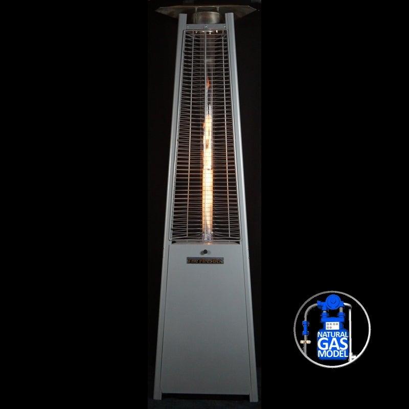 Firestick Natural Gas Outdoor Patio Heater Silver Buy