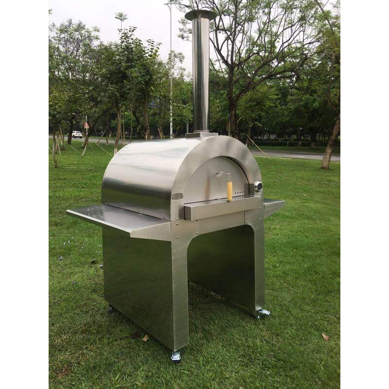 NEW EXTRA Large Outdoor Stainless Steel Portable Wood ...