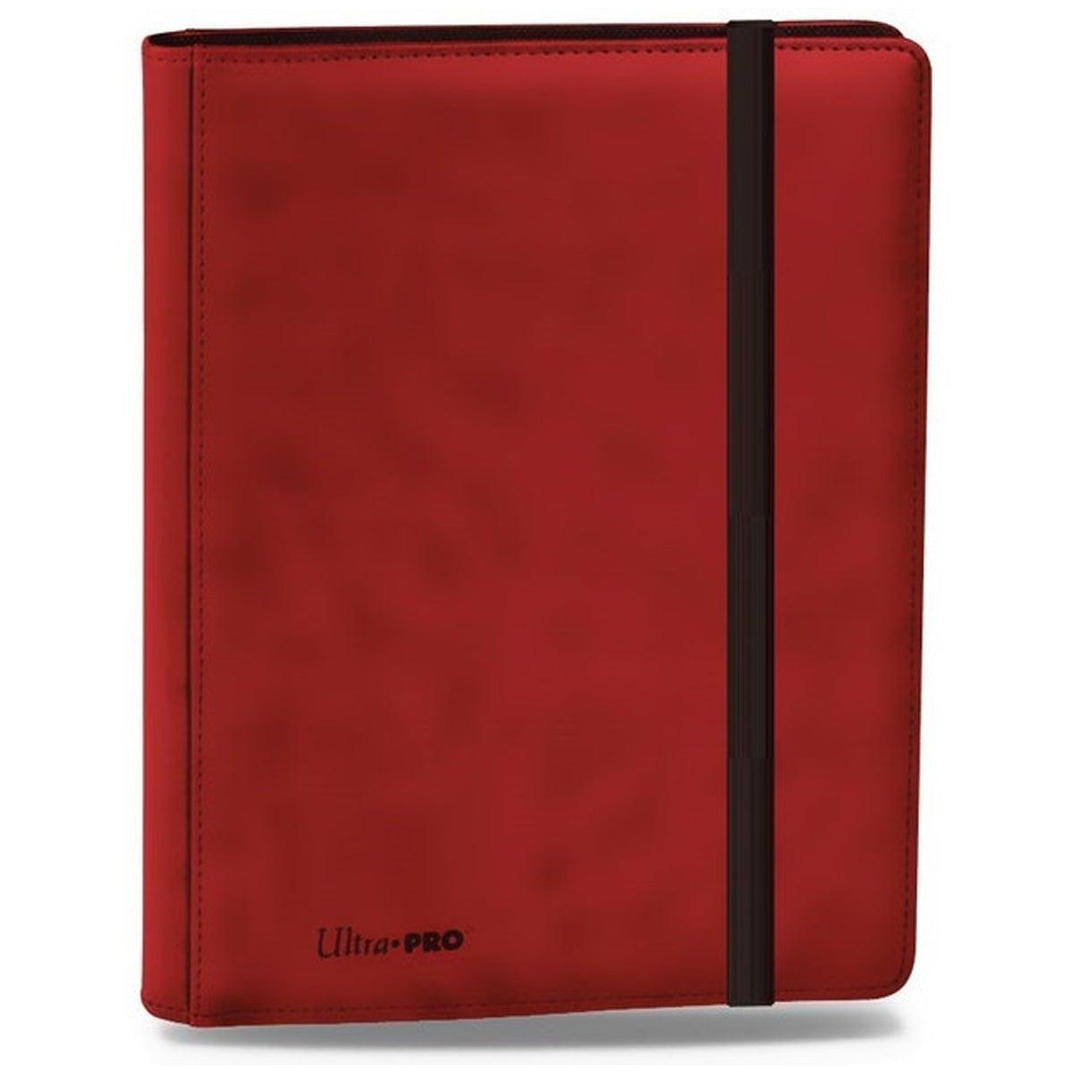 ULTRA PRO Premium 9-Pocket Red PRO-Binder Card Storage MTG