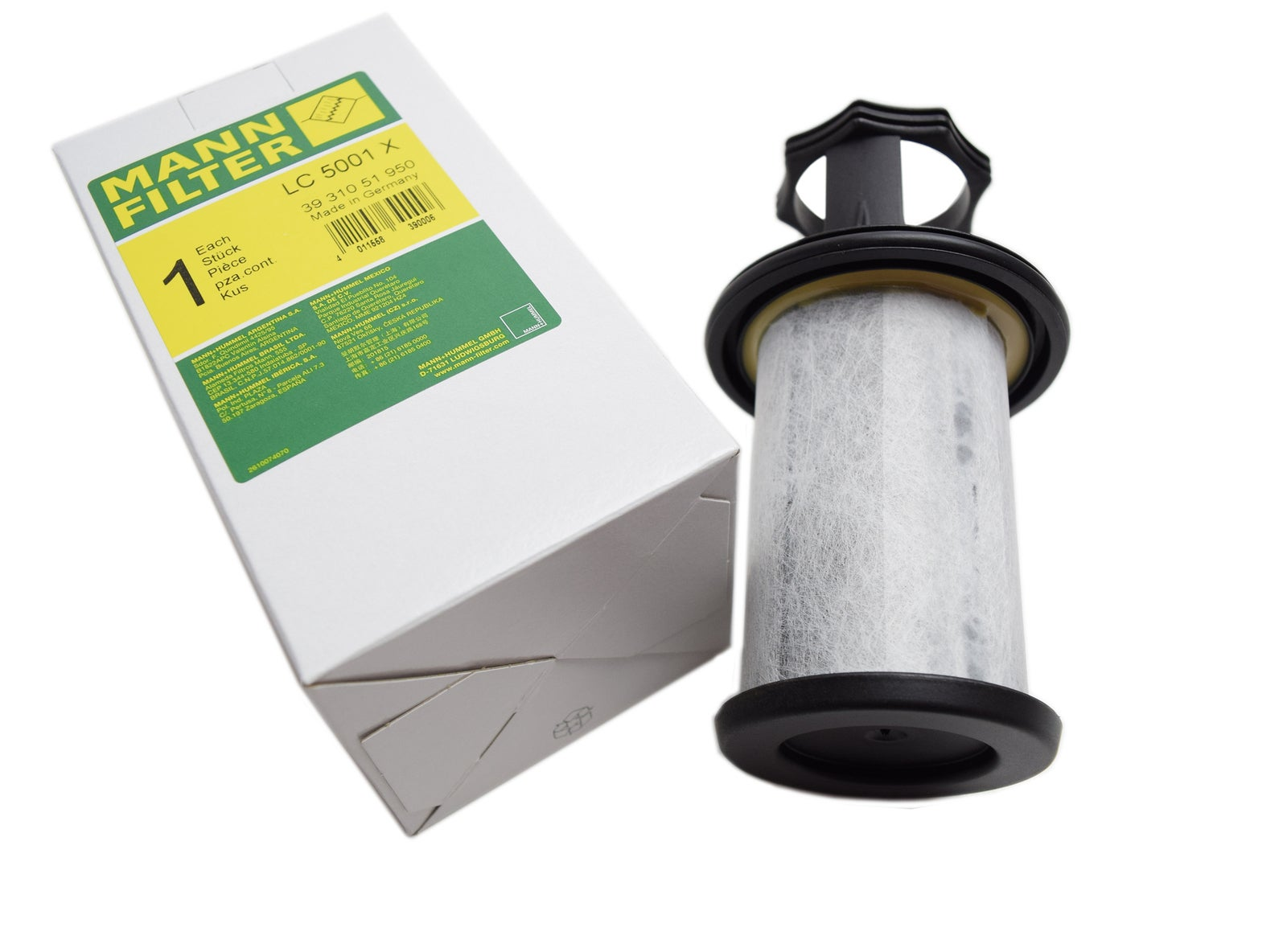 Mann ProVent 200 Replacement Filter Element ONLY LC 5001 X 3931051950 ProVent
