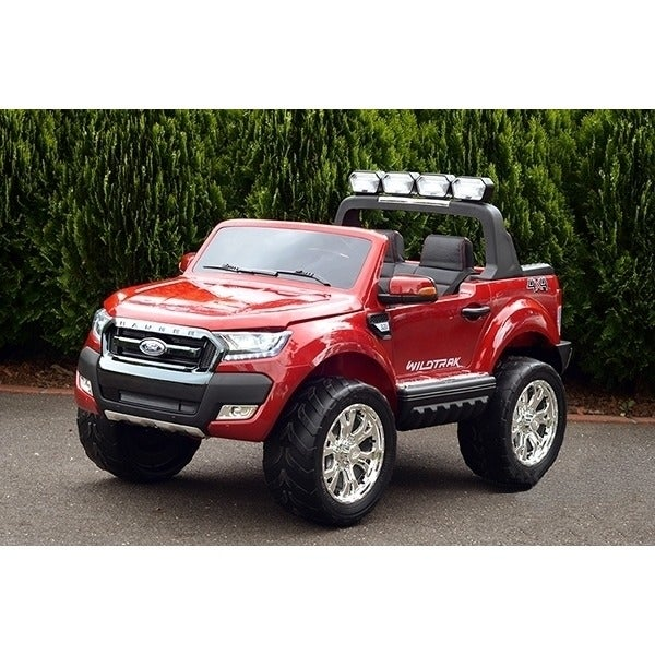 Kids Licensed Ford Ranger Electric Ride On Car Red