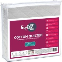 Triple Z Queen Size Quilted Mattress Protector