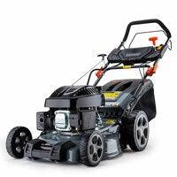 Baumr-AG 18 Inch Lawn Mower Electric Key Start Self Propelled Lawnmower 4Stroke