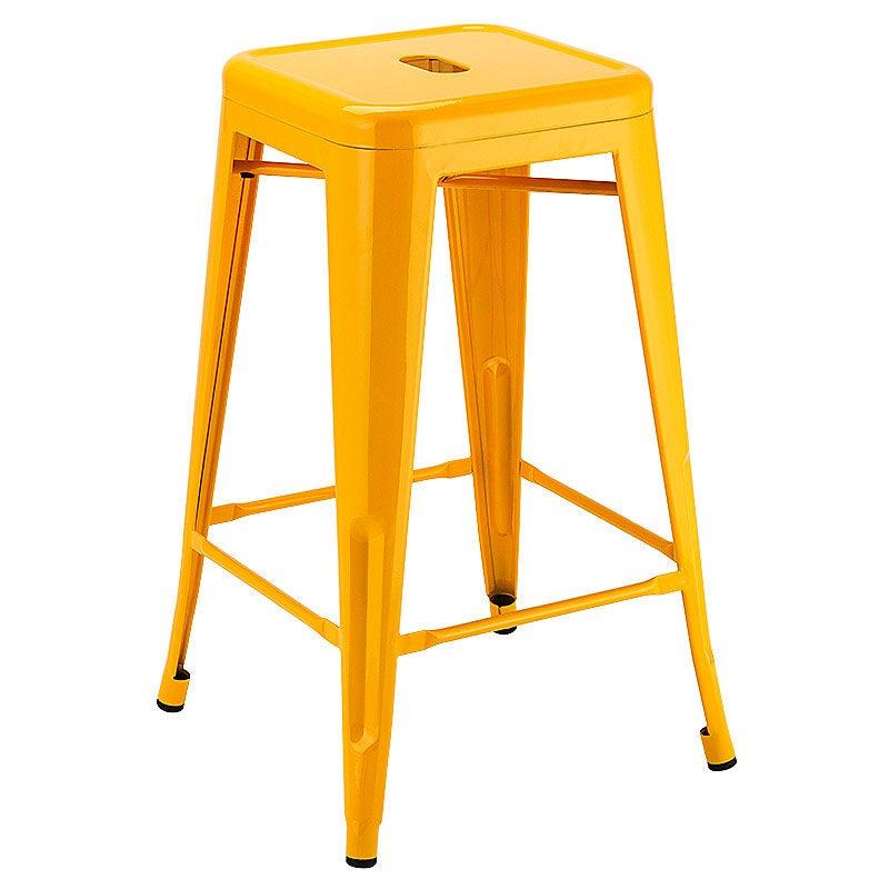 4 x replica tolix bar stools steel metal kitchen 66cm