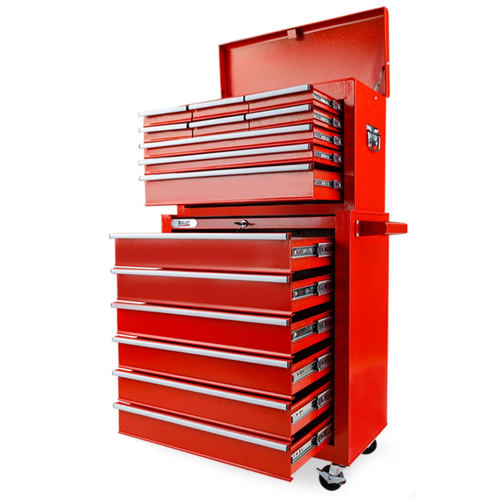 High-quality Tool Trolley with Tools 7 Layers Storage Cabinet Chest Box Carrier