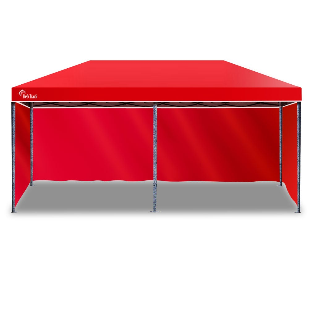 Red Track 3x6m Folding Gazebo Shade Outdoor RED Foldable ...