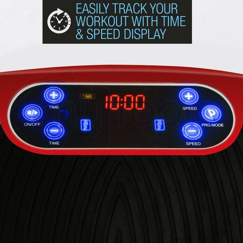 PROFLEX Vibration Platform 3500W Exercise Machine Plate ...