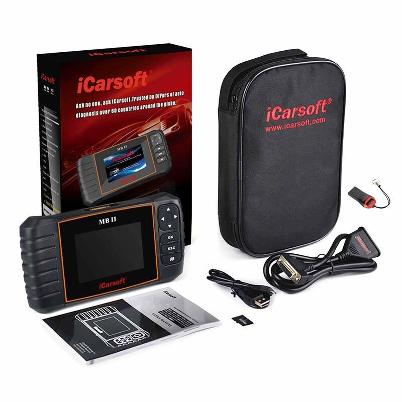 ICarsoft MB V2.0 Mercedes Airbag ABS Moteur Diagnostic Scan Tool-iCarSOFT UK