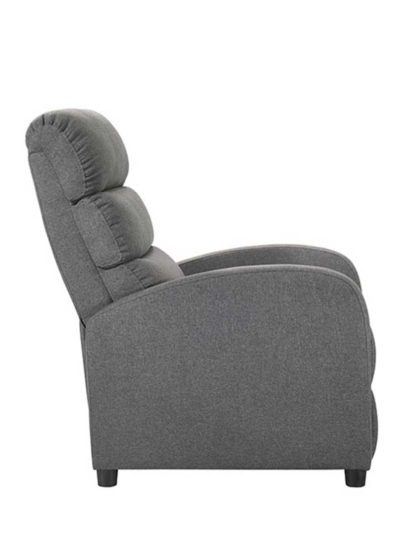 Luxury Fabric Recliner Chair Armchair Couch Grey Buy
