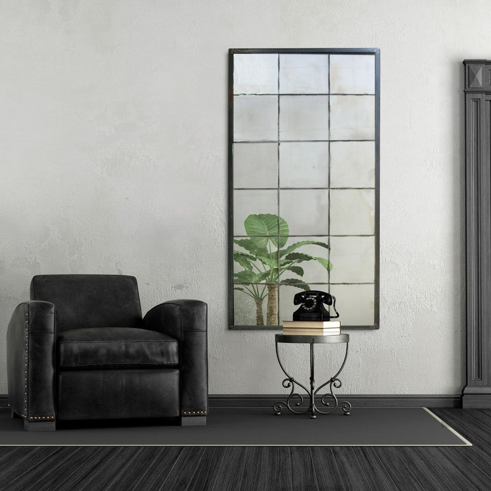 Mosaic Distressed Antique Mirror Panel - 3 sizes available ...