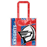 Newcastle Knights NRL Laminated Carry Shopping Grocery Bag
