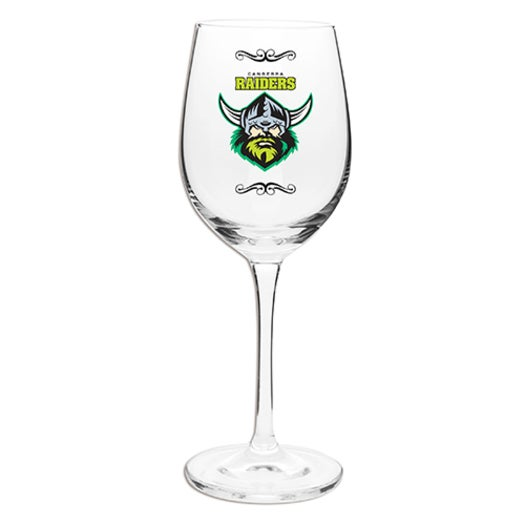 Canberra Raiders Nrl Team Wine Champagne Drink Glass 470ml Buy Beer Glasses Mugs 923171