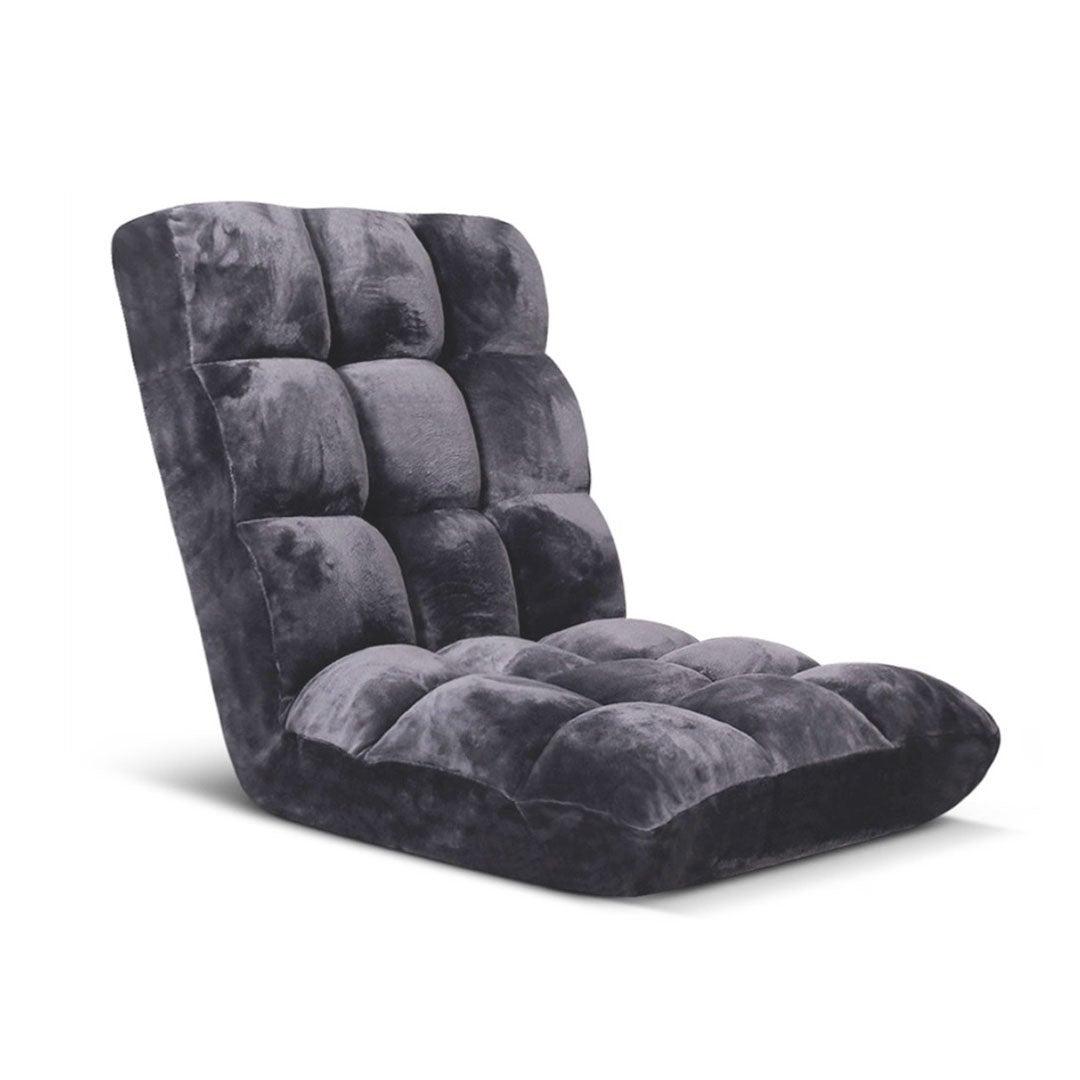 SOGA Floor Recliner Folding Lounge Sofa Futon Couch ...