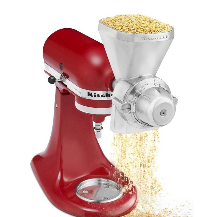 Kitchenaid Grain Mill Attachment Buy Mixer Amp Blender