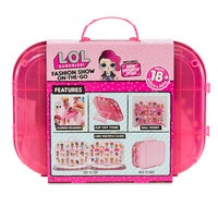 LOL Surprise Fashion Show On The Go Doll Carrying Case/Storage/Display Hot Pink