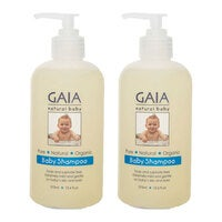 Gaia 750ml Pure/Natural/Organic Shampoo for Baby/Kids/Toddlers Vegan Friendly