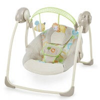 Ingenuity Soothe N Delight Portable/Foldable Swing Newborn/Infant Rocking Chair