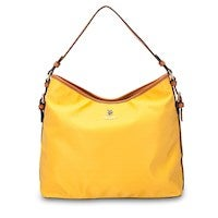 US Polo Assn. Houston Nylon/PU Hobo Bag in Yellow