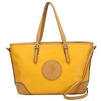 US Polo Assn. Newburgh PU Tote Bag in Yellow