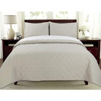 "ARDOR BOUDOIR ""Oxford"" REVERSIBLE COVERLET SETS"
