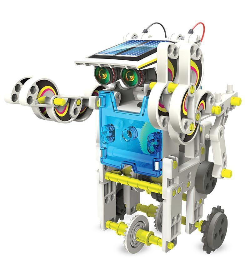 14-in-1 Solar Robot Construction Kit | 4M Kidz | Buy ...