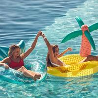 Sunnylife Luxe Tropical Island Pool Ring Float