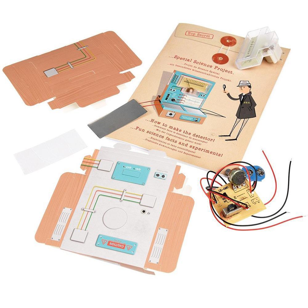 Secret Agent DIY Lie Detector Kit | Buy Science Kits ...