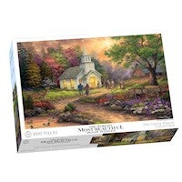 Crown & Andrews - Chuck Pinson, Strength Along the Journey Puzzle 1000pc