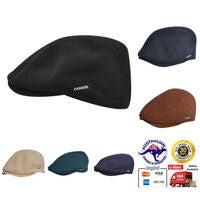 Beige Sand KANGOL Cord Hudson Cap K0763FA Newsboy Driving English Style Hat