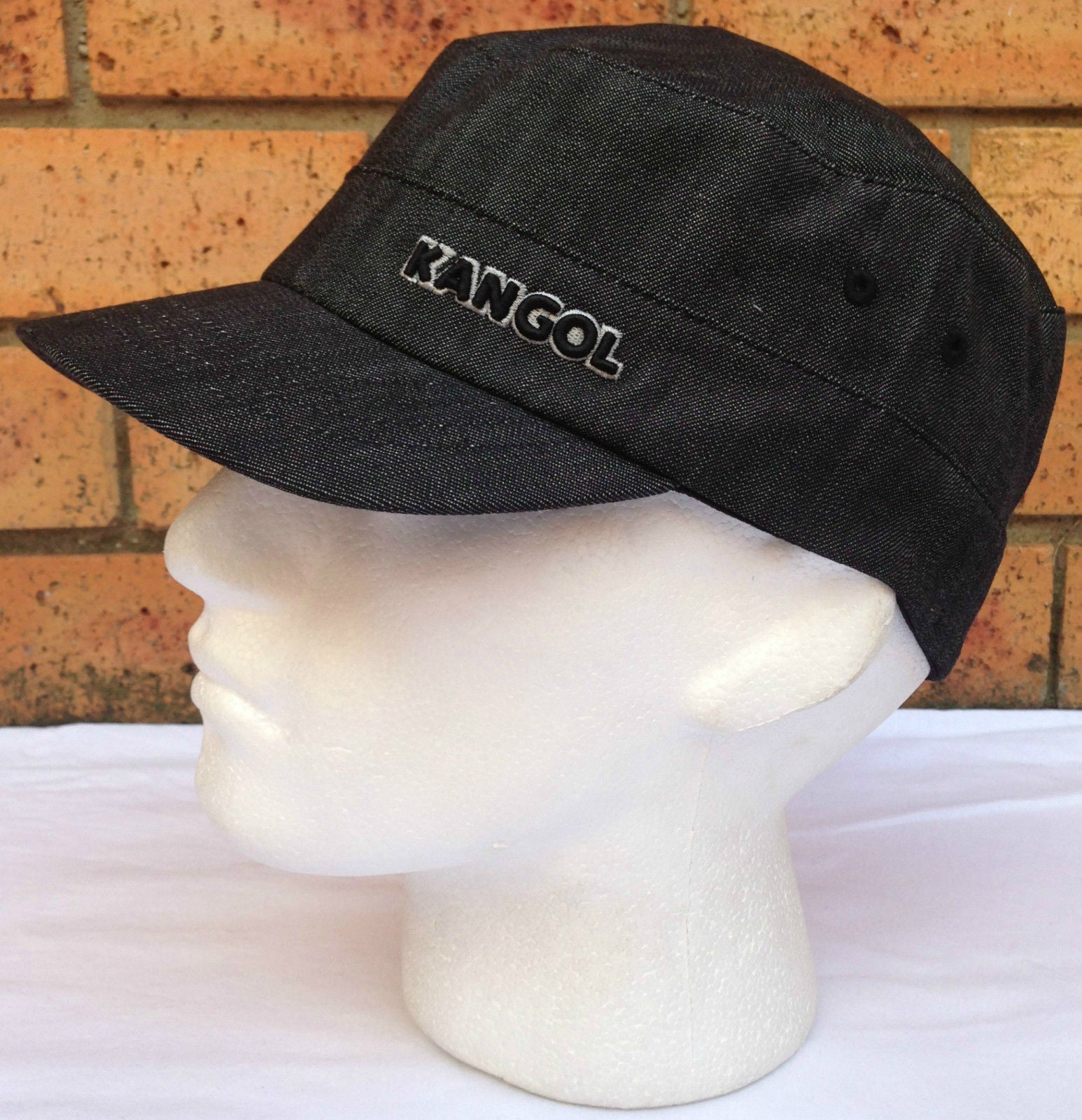 £ 45 Kangol Authentic Vintage Hardwear Indigo 507 Mens a Size Medium//Large RRP