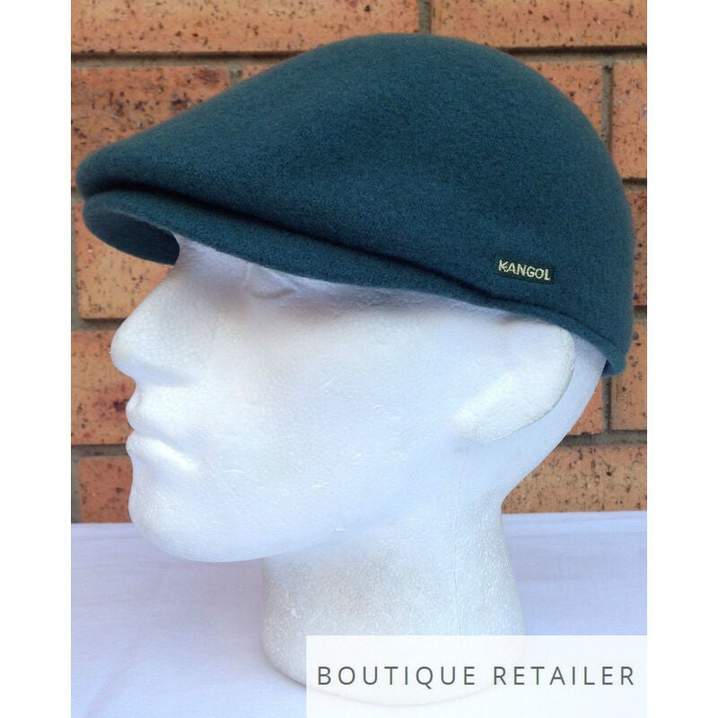 KANGOL Wool Clery Cap Warm Winter Driving Hat Seamless 6988BC New Authentic
