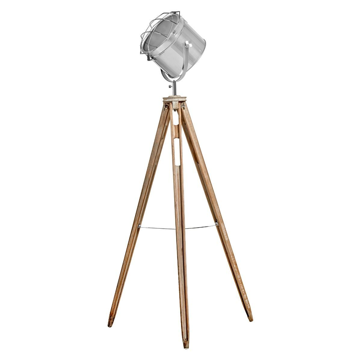 NAUTICAL TRIPOD FLOOR LAMP Searchlight Modern Spot Light Retro Industrial 75029 | Buy Floor Lamps - 9348750000293