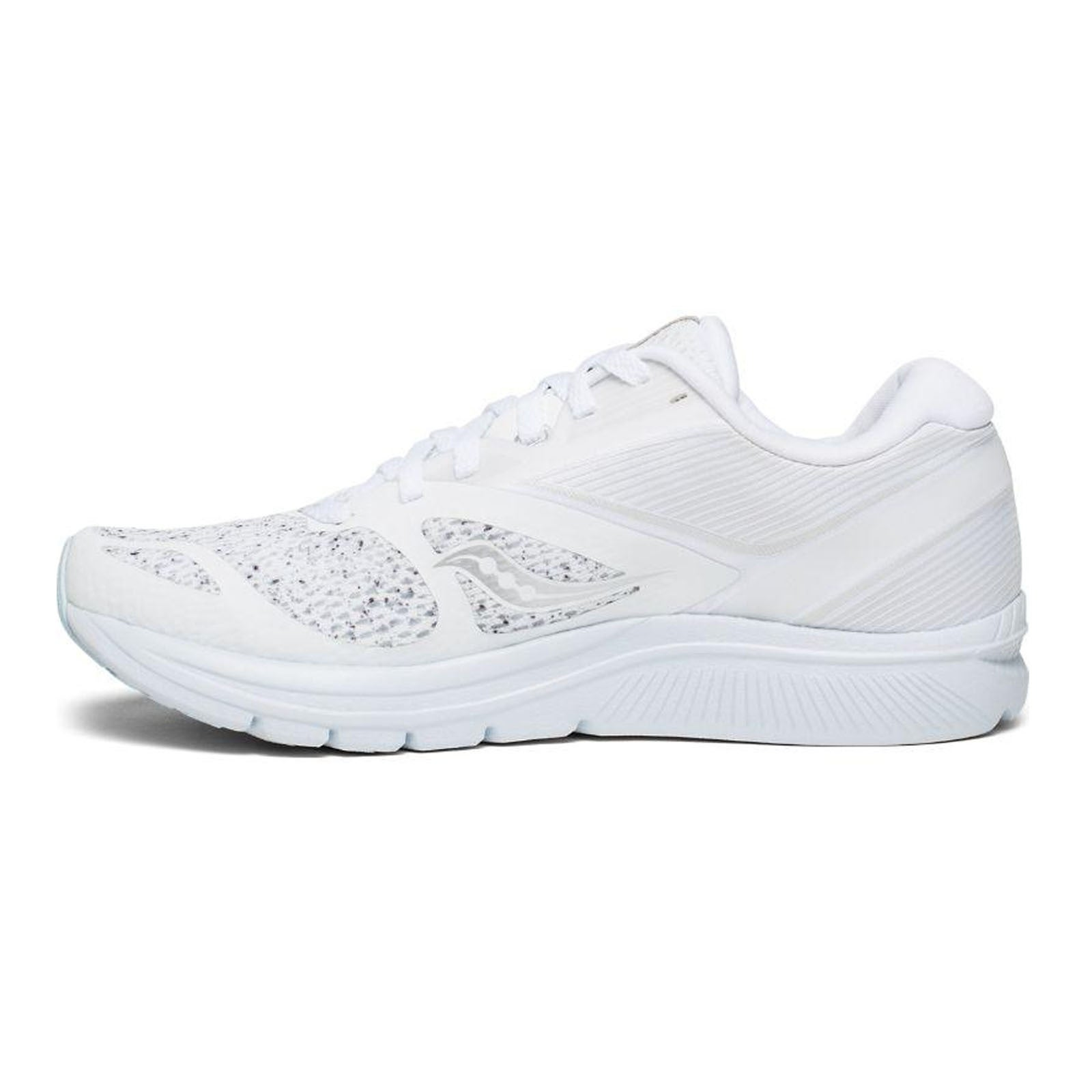 Saucony Women's KINVARA 9 Sneakers Runners Running Shoes White Noise