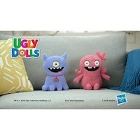 UglyDolls Feature Sounds Stuffed Plush Toy 11.5 inches - Choose Moxy or Ugly Dog