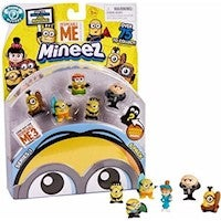 Minions Despicable Me 3 Mineez Series 1 Deluxe Character 6pk - Choose from list