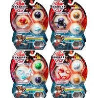 Bakugan Battle Planet Starter Pack 3-Pack - Choose from 7
