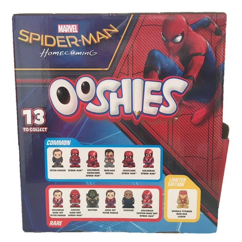Marvel Ooshies Spider man Homecoming Blind Bag Full box of 45