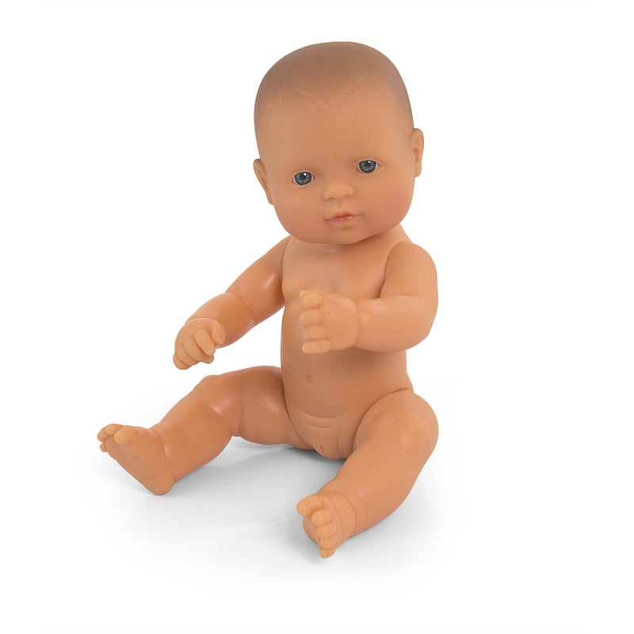 Miniland Educational Baby Doll Caucasian Girl 32cm | Buy ...