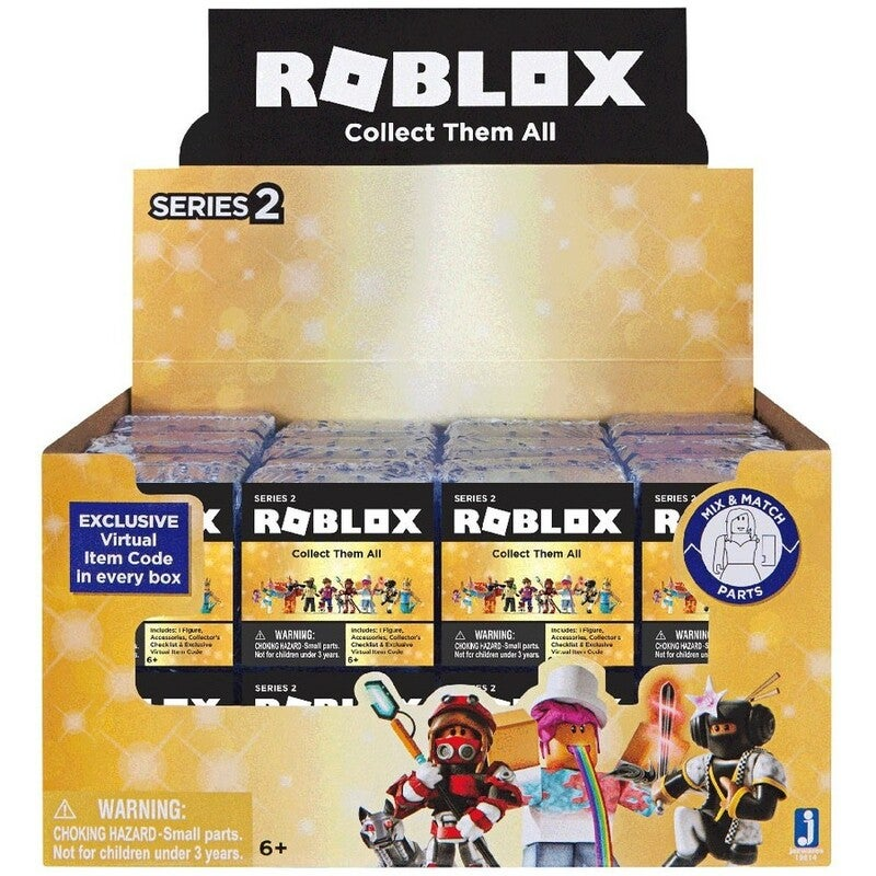 Roblox Gold Celebrity Collection Series 1 Mystery Blind Box