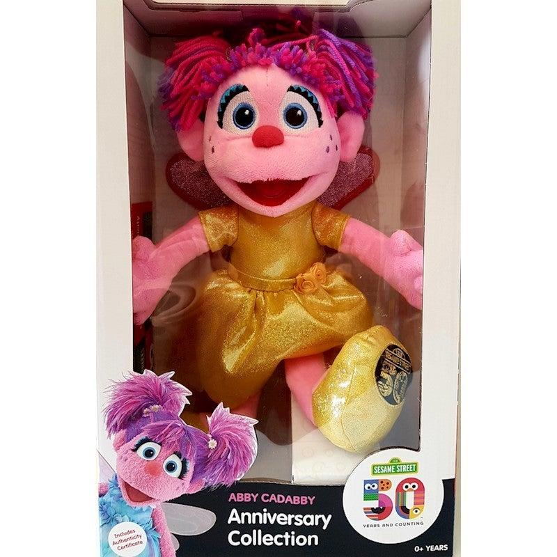 Sesame Street Abby Cadabby Plush 50th Anniversary Limited Edition