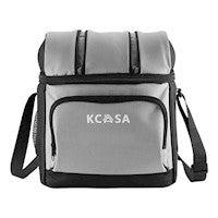 KCASA KC-CB01 12-can Soft Cooler Bag Travel Picnic Beach Camping Food Container Bag With Hard Liner | Grey