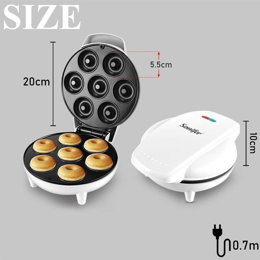 750w Diy Donut Maker Doughnut Machine Party Dessert