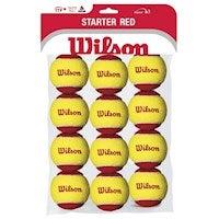 Wilson Starter Red Balls - 1 Dozen