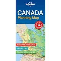 Canada Planning Map : Lonely Planet Travel Guide : 1st Edition