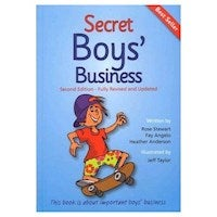 Secret Boys' Business : This Book is about Important Boys' Business