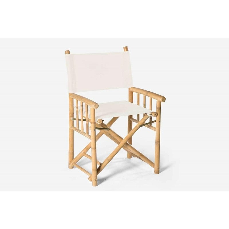 Excellent Bamboo Director Chair White Inzonedesignstudio Interior Chair Design Inzonedesignstudiocom